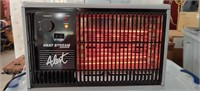 Electric Heater Works Has Blower   1250/1500Watts