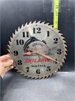 Skilsaw shop clock