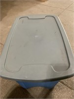 Sterilite 18gallon storage tote with lid- lid