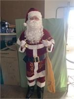 New- Santa costume set - 12 piece deluxe velvet