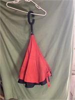 New Large  Red Umbrella - 4ft