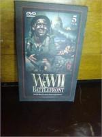 5 dvd set of WWII Battlefront