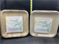 New - 2 20 pack of plates - 100% natural,