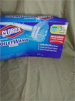 New Clorox toilet wand refills. Includes 1 wand