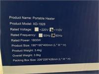 New-Electric Heater 1800 Watt in Box Amazon