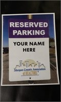 Reserved Parking at MCAOR office