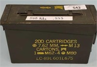 US Military 5.56mm Ammo & Ammo Can