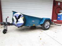 2004 Chariot brand motor cycle trailer.