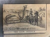 Rare Watson of Ayr Lithograph Poster