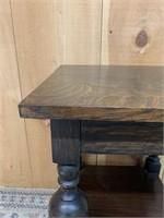 Quarter Cut Oak Monastery Side Table