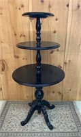Fine 3 Tired Pedestal Merchant Display Table