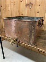 Large Copper Maple Syrup Boiler