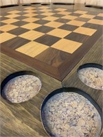 Beautiful Pine Games Table