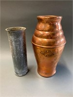 Copper Vestal with Tin Insert