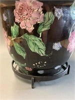 Small Oriental Flower Pot