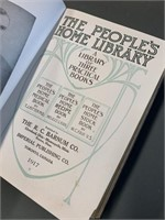 The Peoples Home Library Hardcover