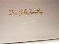 14kt Gold Necklace with Box