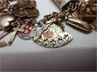 9k Charm Bracelet