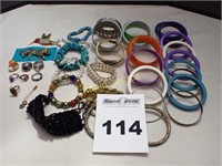 Costume Bangles, Rings & More