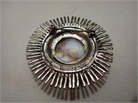 Six Vintage Brooches