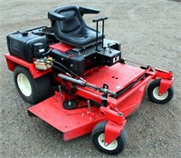 "Gravely Zero Turn Mower, Kohler 2-cyl gas eng, 60"" mower deck, 2756 hrs, SN: 000222 - This item will be sold at LIVE auction with ABSENTEE BIDDING available. More info, pics and video can be found in the catalog (see lot 5012)."