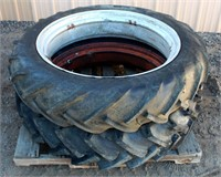 Tractor Tires & Rims 9-32