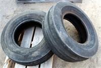 (2) Implement Tires 9.5L-15SL