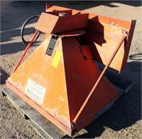 Sand Spreader w/skid loader attachment, hyd