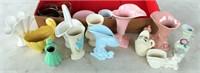 Box Misc Collectible Vases, Etc