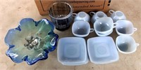 Misc Blue Dishes/Glassware