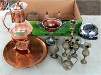 Copper & Silver Pcs
