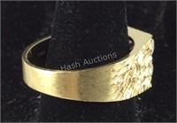14k gold ring 12.6g size 14