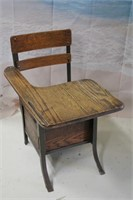 Beautiful Vintage Student Desk