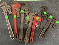 8 Pipe Wrenches
