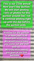 22nd annual new years day auction online only