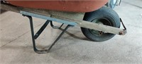 Rubber Tire Wheel Barrow