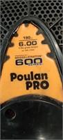 Poulan Pro  Self Propelled Mower.  Edgar Shorts.