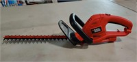 "B&D  18""  hedge Trimmer. Works good"