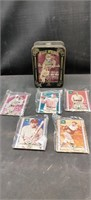 Babe Ruth Metallic 1994  5 Card Collectors Cards