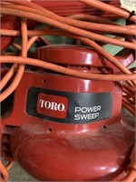 Torro electric blower with extensions cord-works