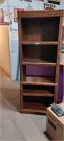 "Bookcase. 6'6"" Tall  30"" Wide Edgar Shorts"