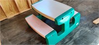 Child's Little Tyke Picnic Table