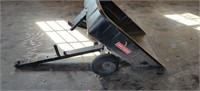 Craftsman 2 Wheel Dump Trailer very nice