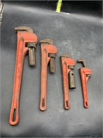 4 pipe wrenches
