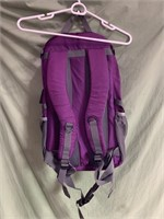 New purple backpack with built in laptop sleeve