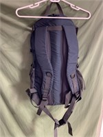 New grey backpack with built in laptop sleeve