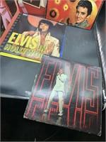 6 Elvis vinyl records