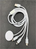 New 3 in 1 portable charger- iwatch, iPhone, and