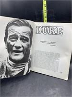 Duke the John wayne album book