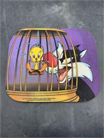 Sylvester & tweety mouse pad